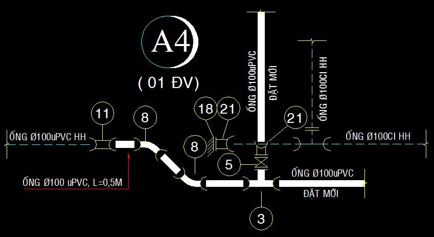 thiết kế cấp nước dma 46