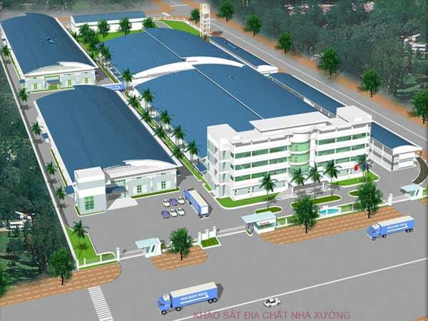 nhà xưởng công ty Sheico tại KCN Đông Nam, Huyện Củ Chi