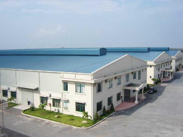 nhà xưởng Long Huei tại KCN Kim Huy Bình Dương