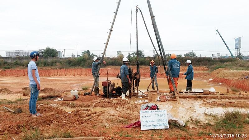 quy trình khoan khảo sat địa chất