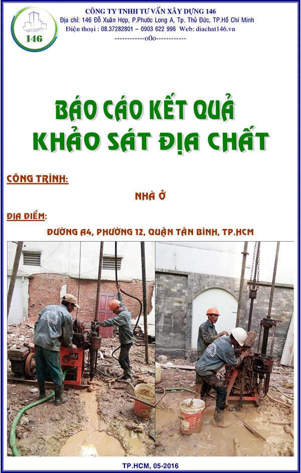 báo cáo địa chất Quận Tân Bình, phường 12